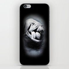 Woman in Black iPhone & iPod Skin