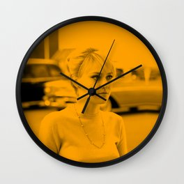 Dakota Fanning Wall Clock