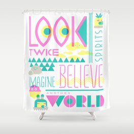 Look Twice Shower Curtain