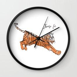 Jump In Wall Clock