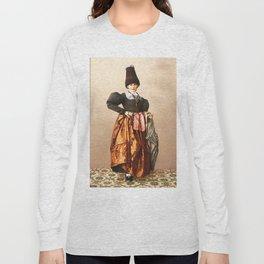 European peasant Long Sleeve T-shirt