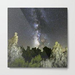 Milky Way At Mono Lake  9-24-19 b Metal Print