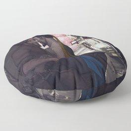 Stealing a moment Floor Pillow