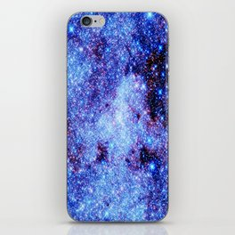 GAlaxy Periwinkle Stars iPhone Skin