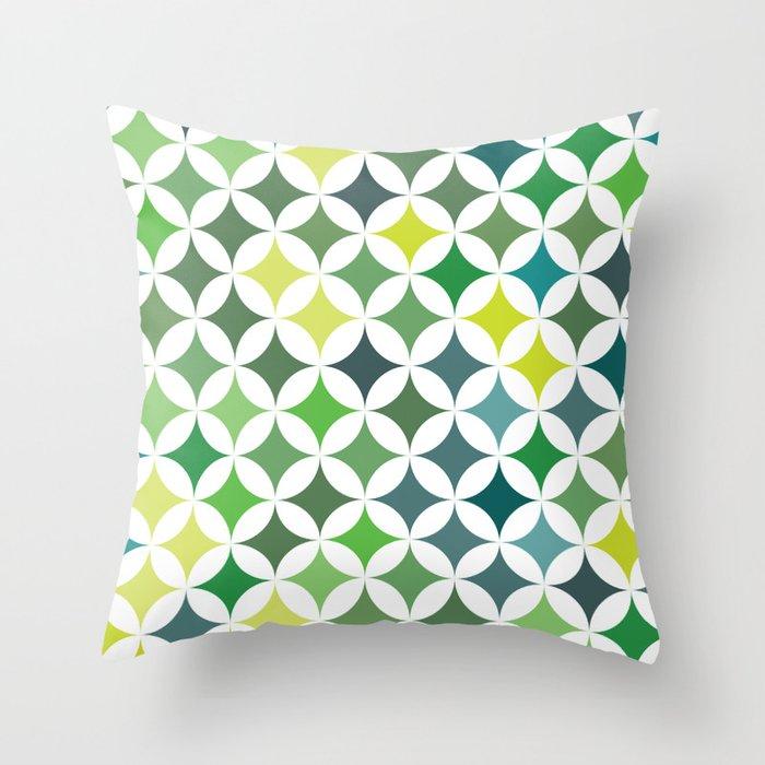 Stars - Leaf #140 Throw Pillow