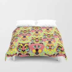 Modular Lions and Tigers and Bears. Duvet Cover