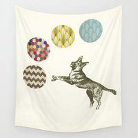 games Wall Tapestries featuring Ball Games by Cassia Beck