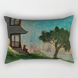 The Story of E.B. White Rectangular Pillow