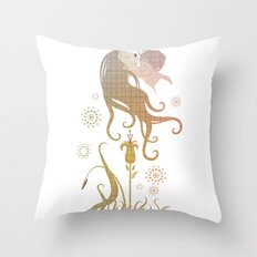 Blinded by selfishness Throw Pillow