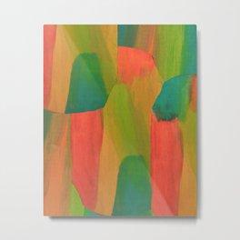 Color Wash Metal Print