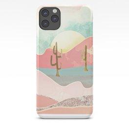Desert Mountains iPhone Case