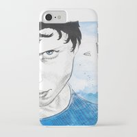 engineer iPhone & iPod Cases featuring The Dreaming Engineer Ia by Vivian TAN Ai Hua