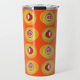 Pomegranage wind chime Travel Mug
