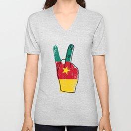 Fancy Cameroon Victory Gift Idea Unisex V-Neck