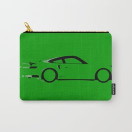 Fast Green Car Carry-All Pouch
