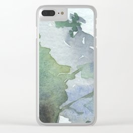 Colors#6 Clear iPhone Case