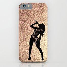 Viva la Diva iPhone Case