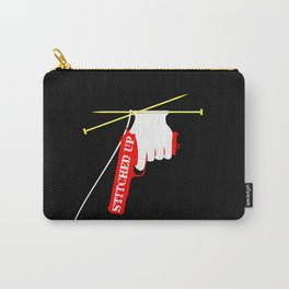 Stitched Up Carry-All Pouch