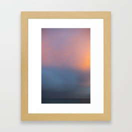 Colours of Sunset Framed Art Print
