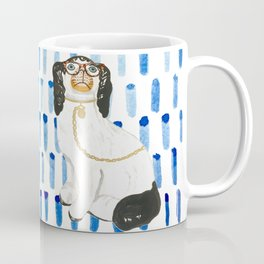 BESPECTACLED on BLUE Coffee Mug