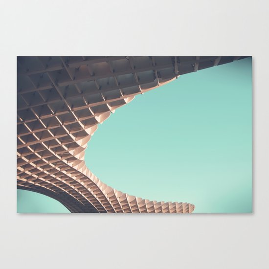 Waffle or not? Canvas Print