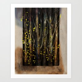 What's Hidden in the Trees I Art Print