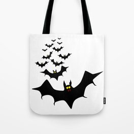 Isolated Bats Tote Bag