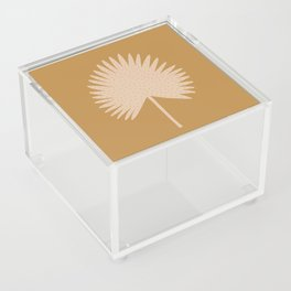 Palm Leaf Acrylic Box