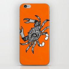 Fall Crab iPhone & iPod Skin