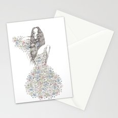 Flower Girl - pattern Stationery Cards