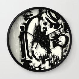 Saint With Bird Wall Clock