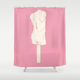 Popsicle Man Shower Curtain