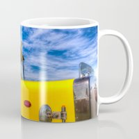 truck Mugs featuring Peterbilt Truck by David Pyatt