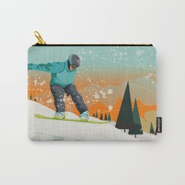 Snowboard Jump Carry-All Pouch
