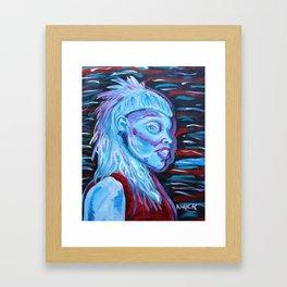 Yolandi Visser Portrait Fan Art Framed Art Print