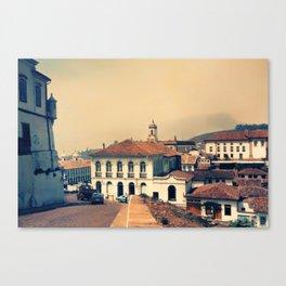 Ouro Preto vintage Canvas Print