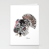 turkey Stationery Cards featuring Turkey by Elena Sandovici