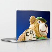 teddy bear Laptop & iPad Skins featuring Teddy Bear by Luc Girouard