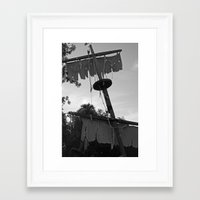 pirate ship Framed Art Prints featuring Pirate Ship by Yellow Tie