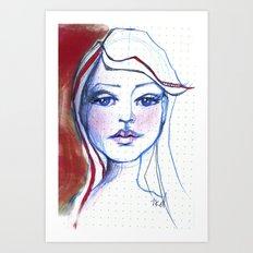 Nonplussed Art Print