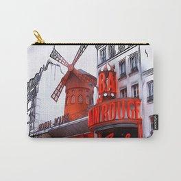Patterns of Places  - Paris Carry-All Pouch