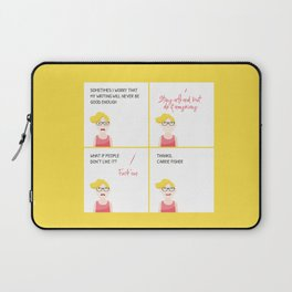 Thanks, Carrie Laptop Sleeve