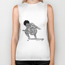 70s surfer Biker Tank