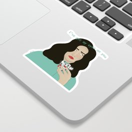 i've got my eyes on you Sticker