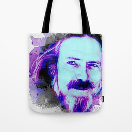 Alan Watts portrait Tote Bag