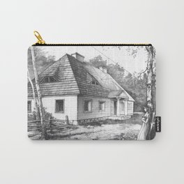 Traditional Polish Mansion Carry-All Pouch