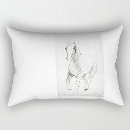 Horse (Notebook) Rectangular Pillow