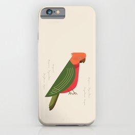 Australian King Parrot, Bird of Australia iPhone Case