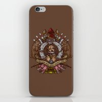 murray iPhone & iPod Skins featuring Murray crest by Rodrigo Ferreira