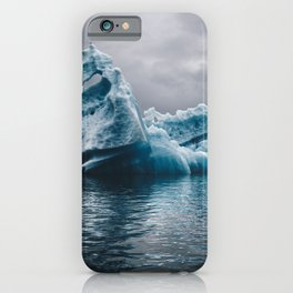 iceberg in iceland iPhone Case